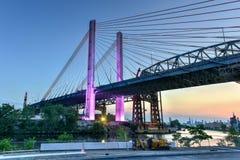 Kosciuszko-Brücke - New York City Lizenzfreie Stockfotos