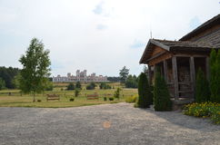 Kosciuszko. Kossovskii castle, palace , park - Kosciuszko Stock Image