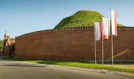 Kosciuszko Mound in Krakow. Poland Stock Photos