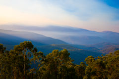 Kosciuszko National Park. Misty Dawn in Kosciuszko National Park, New South Wales, Australia Royalty Free Stock Image