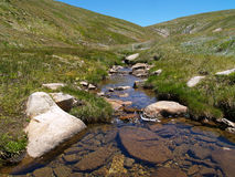 Kosciuszko National Park. River in Kosciuszko National Park Stock Photo