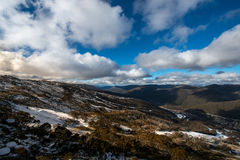 Kosciuszko National park. Highest mountain in NSW Kosciuszko mountain in Kosciuszko National park Stock Photography