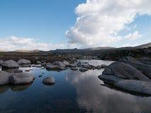 Kosciuszko nationalpark Arkivfoto
