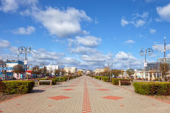 Kosciuszko Square in Gdynia Royalty Free Stock Photos