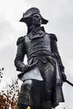 Kosciuszko Statue Lafayette Park Autumn Washington DC Royalty Free Stock Photography