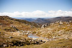 Kosciuszko Walk Valley View Stock Image