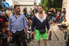 Koseiland, Griekenland - Europese Vluchtelingscrisis Royalty-vrije Stock Afbeelding