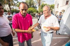 Koseiland, Griekenland - Europese Vluchtelingscrisis Stock Fotografie