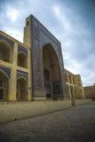 Kosh-Madrasah, Μπουχάρα (Ουζμπεκιστάν) Στοκ Εικόνες