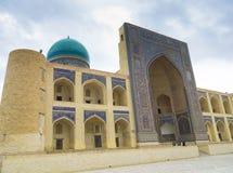Kosh-Madrasah, Μπουχάρα, Ουζμπεκιστάν Στοκ Εικόνες