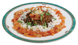 Koshari Stock Photo