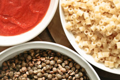 Koshari Royalty Free Stock Photography