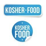 Kosher food label sticker Stock Image