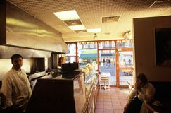 A Kosher food shop, Golders Green, London Stock Photography