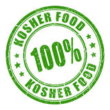 Kosher food vector stamp Stock Image