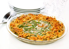 Kosher green bean casserole Stock Photos