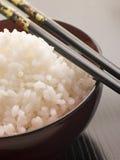 koshihikari miski ryżu chop sticks Zdjęcia Stock