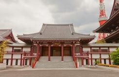 Koshoden Hall of Zojo-ji Temple, Tokyo, Japan Stock Photos