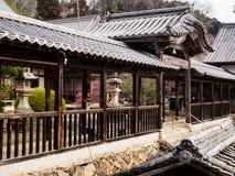 Koshoji寺庙在Uchiko,日本 免版税库存图片
