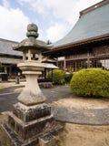 Koshoji寺庙在Uchiko,日本 库存图片