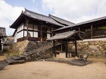 Koshoji tempel i Uchiko, Japan Royaltyfri Fotografi