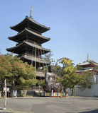 Koshoji Templo Stock Afbeelding