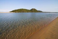 Kosi bay mouth. Crystal clear water at the Kosi Bay mouth Stock Photos