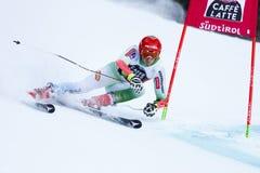 KOSI Klemen in Audi Fis Alpine Skiing World Cup Men's Giant Sl. Alta Badia, Italy 20 December 2015. KOSI Klemen (Slo) competing in the Audi Fis Alpine Royalty Free Stock Images