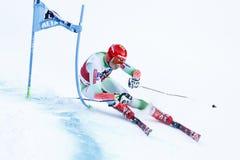 KOSI Klemen in Audi Fis Alpine Skiing World Cup Men's Giant Sl. Alta Badia, Italy 20 December 2015. KOSI Klemen (Slo) competing in the Audi Fis Alpine Stock Image
