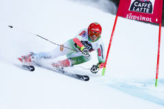 KOSI Klemen in Audi Fis Alpine Skiing World Cup Men's Giant Sl Royalty Free Stock Images