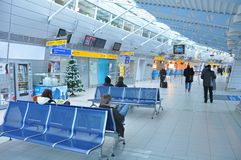 Kosice airport Royalty Free Stock Image