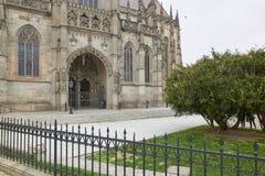 Kosice, Eslováquia - 17 de abril de 2018: Catedral do ` s do St Elizabeth em Kosice Fotografia de Stock Royalty Free