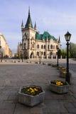 Kosice - Jakabov slott Arkivfoton