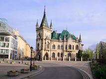 Kosice - Jakabov slott i morgon Royaltyfri Foto