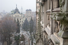 Kosice - Outlook from Saint Elizabeth cathedra Stock Image