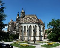 Kosice - Saint Michaels chapel Stock Image