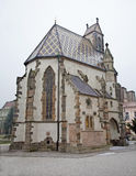 Kosice - Saint Michaels chapel in winter. Stock Photography