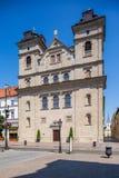 Kosice in Slovacchia Chiesa di trinità santa Immagine Stock Libera da Diritti