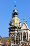 Kosice, Slovakia. Detail of Cathedral of Saint Elizabeth, Kosice, Slovakia stock photo