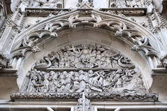 Kosice, Slovakia. Famous St. Elisabeth Cathedral church architecture detail stock images