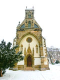 Kosice, Slovakia - January 05, 2016: St. Michael chapel in the main square royalty free stock photos