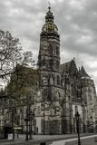 St. Elisabeth`s Cathedral in Kosice, Slovakia stock photo
