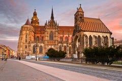 Kosice, Slowakei lizenzfreie stockbilder