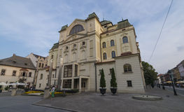 Kosice square in autumn time Royalty Free Stock Photography