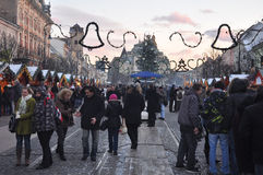 Kosice winter markets Stock Photos