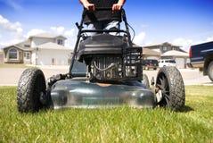 kosisz trawnik, Fotografia Stock