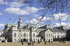 Końskich strażników parada, Londyn Fotografia Royalty Free