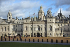 Końskich strażników parada Londyn, Anglia - Obrazy Royalty Free
