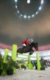 końskie wyścigi jazda Zdjęcia Royalty Free