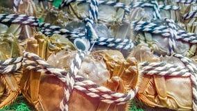 Kosmaci kraby dla sprzeda?y obraz stock